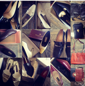 Vintage Italian shoes and bags..starting at $15