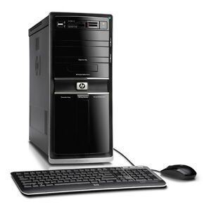 notex sale-computer tower hp 4gb 350gb dvd burner win7--$99.99