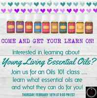 Free Online Young Living Essential Oils 101 Class