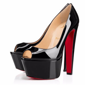 CHRISTIAN LOUBOUTIN, ALMOST NEW