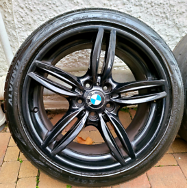 BMW M SPORT 19 INCH ALLOY WHEELS 5X120 STAGGERED 520 320 330 420 530