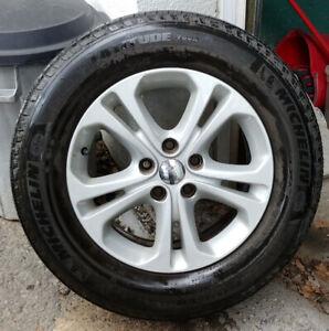 4 mags Dodge Durango pneus d'été tires 265-60-18