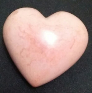 Heart shaped Natural Stone Heart Paperweight