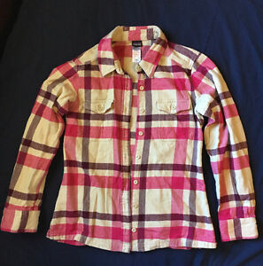 Patagonia Women's Long-Sleeved Fjord Flannel Shirt Size 4