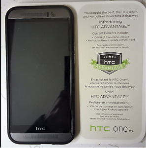HTC One M9 with accessories