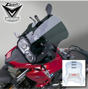 Pare-brise fumé pour BMW F700GS/Smoked windshield for BMW F700GS