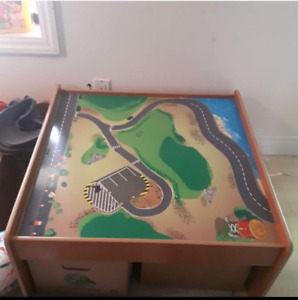 Imaginarium Train Table with tracks and more
