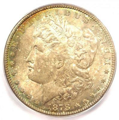 1878-CC Morgan Silver Dollar $1 Coin - ICG MS65+ Plus Grade - $1,690+ Value!