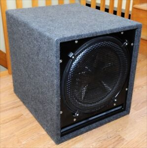"""Clarion PXW1552 15"""" DUAL 4-OHM VOICE COIL SUBWOOFER"""
