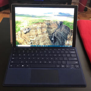 Microsoft Surface Pro 4 - 128GB + Pen, Leather Sleeve & Keyboard