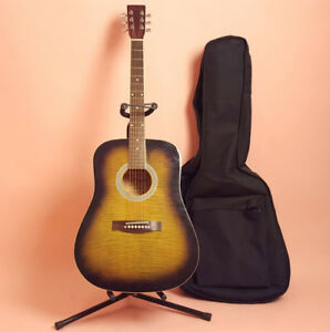 super belle guitare comme neuve + etui + stand + accordeura ve