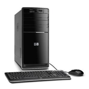 HP Quad Core Desktop Computer 8 GB Ram 500 GB HDD Win 7