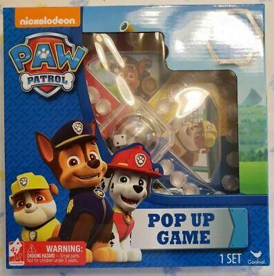 New Nickelodeon Paw Patrol Pop Up Game