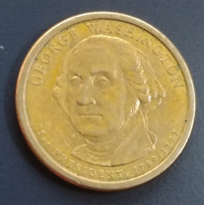 George Washington USA $1 Coin