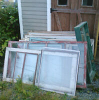 Windows and Glass Doors for Greenhouse