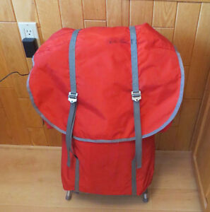 Backpack with Aluminum Frame