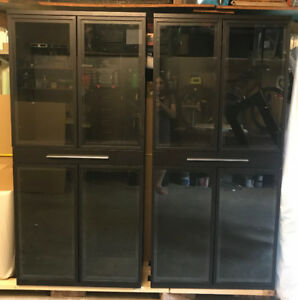 Brand New Glass Bookshelf/Cabinet, only $350