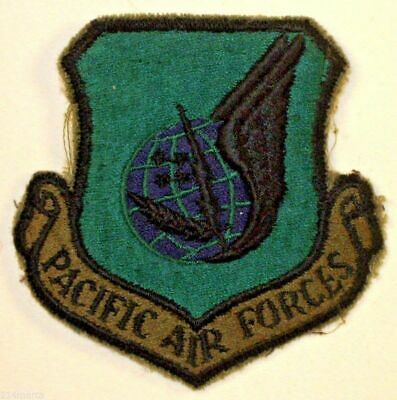 USAF Air Force Pacific Air Forces PACAF Insignia Badge Patch Subdued Green