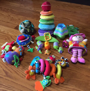 Infant Toy Lot - Lamaze, Melissa and Doug