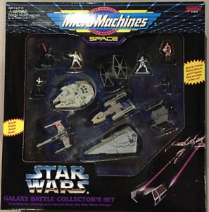 "Star Wars Micro Machines GALAXY BATTLE COLLECTOR""S SET"