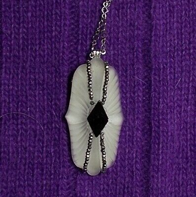 Hand-Painted Ridge Pendant Necklace women/'s jewellery,women/'s necklace,wooden jewellery,girls/' necklace,gift,mountain art,mountain necklace