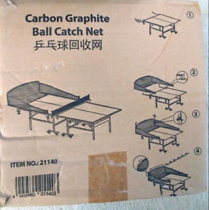 Ping Pong Ball Catch Net, Carbon Graphite ONLY $15