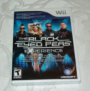 The Black Eyed Peas Experience (Wii) Brand New
