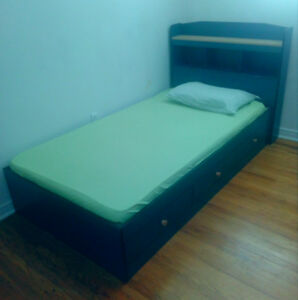 single bed with mattress at a low price
