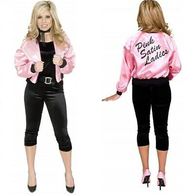 Pink Dolls Jacket - Pink Lady Satin - - Grease Pink Lady Kostüme