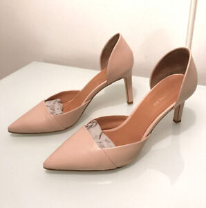 "Le Chateau Nude/Beige D'Orsay Pumps 3"" Heel - Size 7"