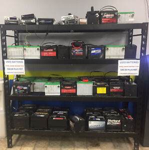 USED FULLY CHARGED VEHICLE BATTERIES
