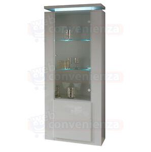Diva special vetrina 1 anta mobile cristalliera moderno - Mobile vetrina moderno ...