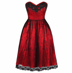Robe rouge 2XL