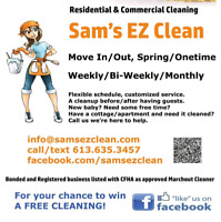 Last Minute Cleans Available!
