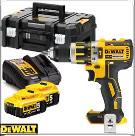 DeWalt combi hammer drill 18v 5Ah