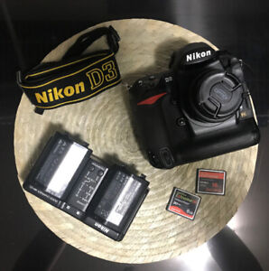 Nikon D3 FX DSLR and 50mm 1.8d - in great condition
