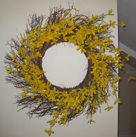 Forsythia Wreath – Yellow