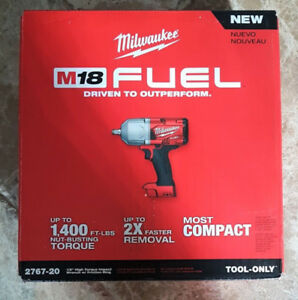 Brand New Milwaukee M18 Fuel 1/2 High Torque Impact Wrench