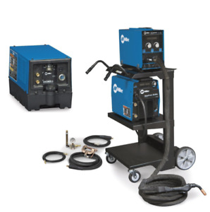 MILLER ALUMAPOWER 350 MPA MIG WELDER PACKAGE BRAND NEW- (951555)