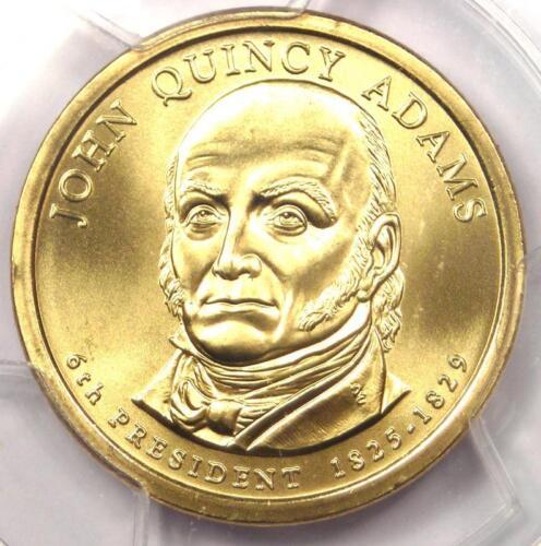 2008-P John Quincy Adams Satin Dollar $1 Coin - PCGS MS69 - Rare - $275 Value!