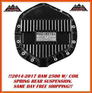 Mag Hytec Rear Differential Cover Fits 2014-17 Dodge Ram 2500 Diesel Gas W COILS
