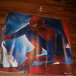 Spiderman poster. Huge. 48inch X 48inch