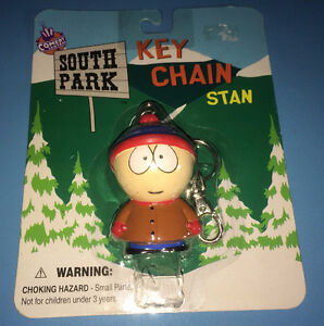 South Park Stan Key Chain ~ Brand New & Sealed