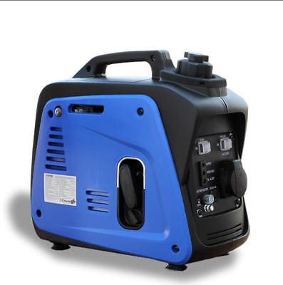 220v Portable Silent Camping Gasoline Power Inverter Generator Set 800w