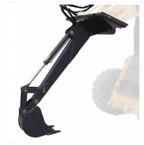 Excavator arm for bobcat