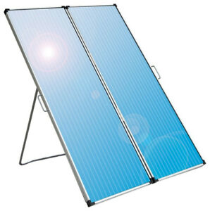 Solar Panel with Battery Controller, 30 W 12 V, Foldable, New