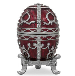 1895 Rosebud Royal Russian Egg - Great Mantle Piece