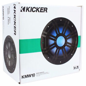 Kicker 10in KM Series Marine Subwoofer- NEW IN BOX