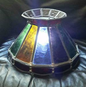 """Glass  12"""" diameter shade"""