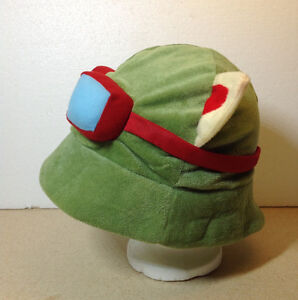 LOL league of legends Teemo One Size Cosplay Party Plush Hat Cambridge Kitchener Area image 2